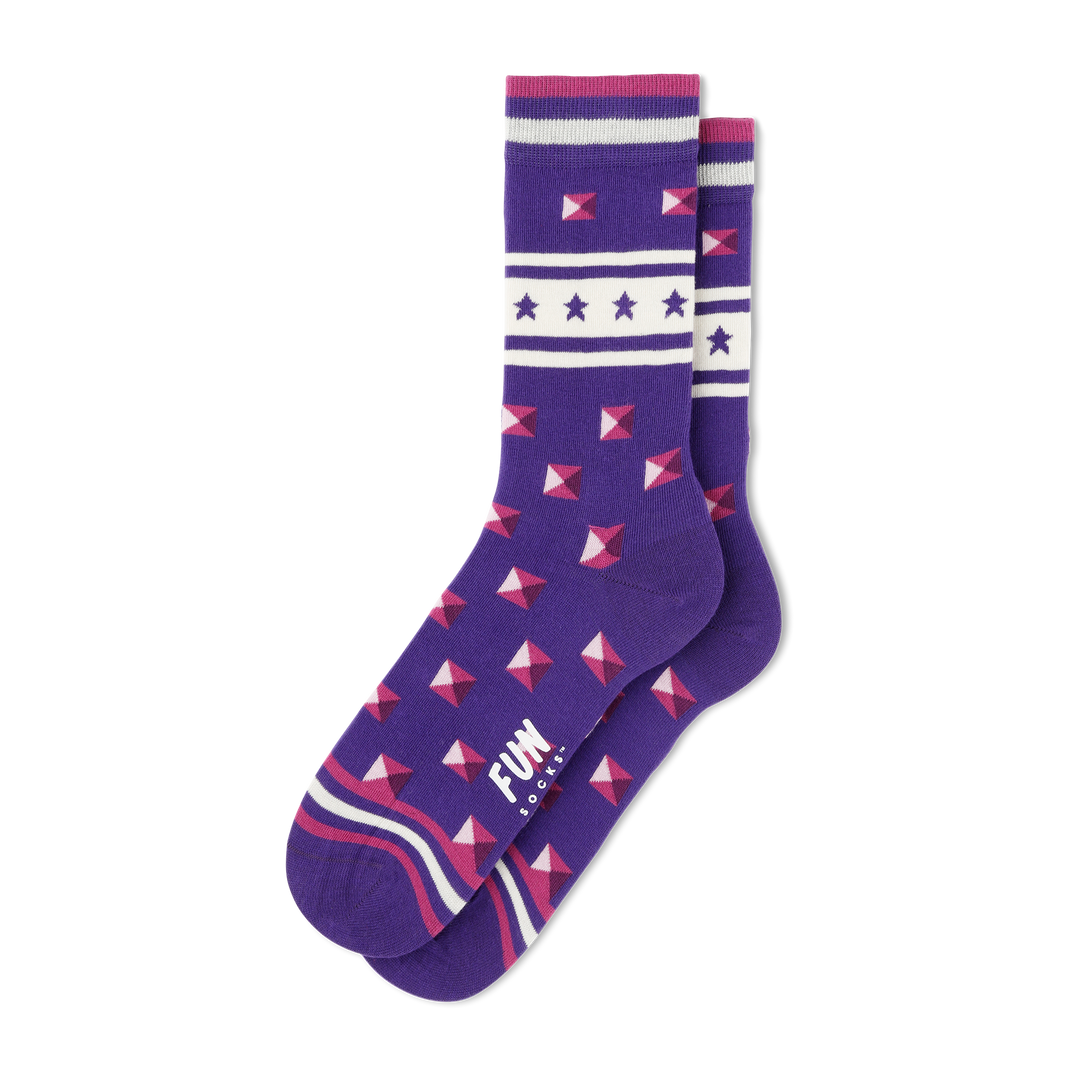 Women's Stud Socks - Fun Socks