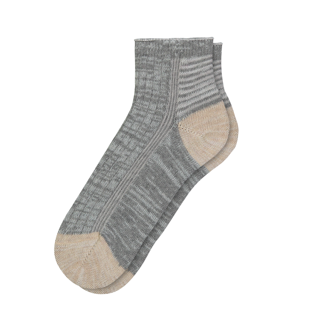 Women's Stripe Anklet - Fun Socks