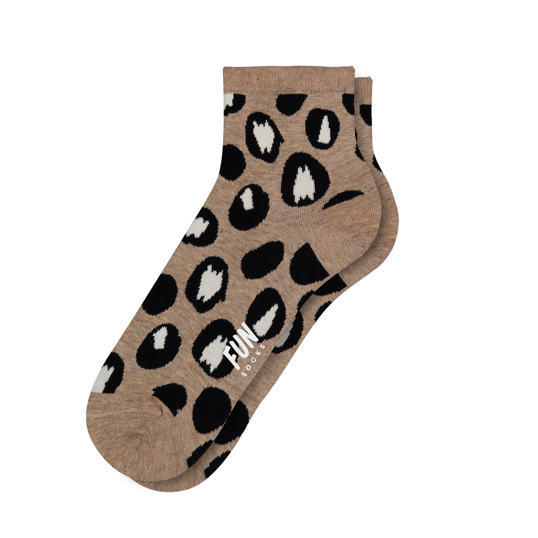 Women's Leopard Socks - Fun Socks