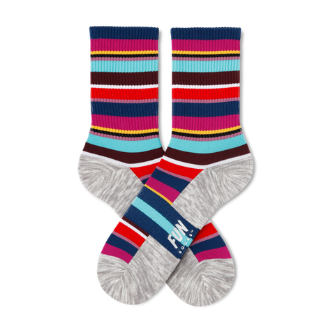 Women's Stripe Athletic Socks