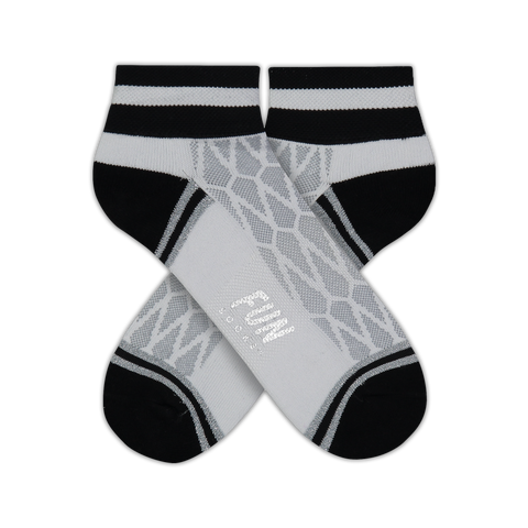 Women's Mesh Stripe Athletic Socks - Fun Socks