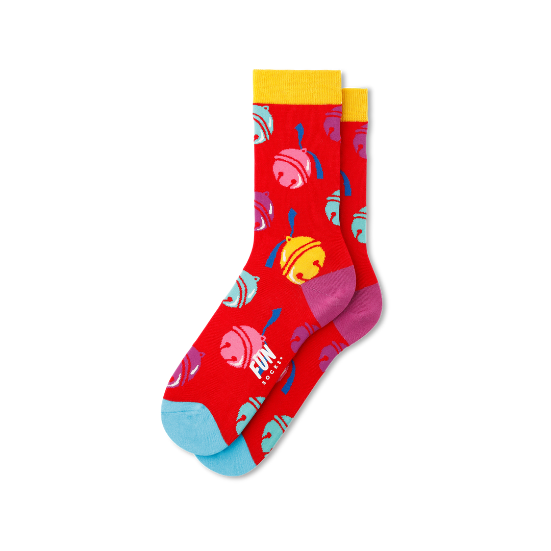 Women's Jingle Bell Socks
