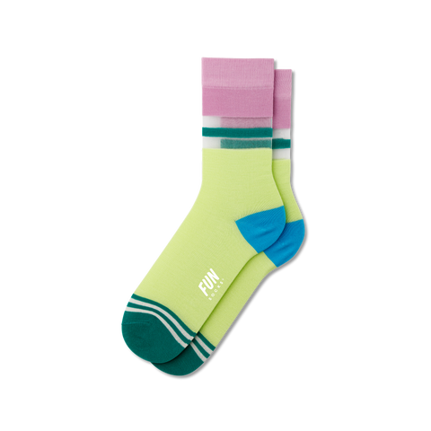 Women's Stripe Sheer Socks