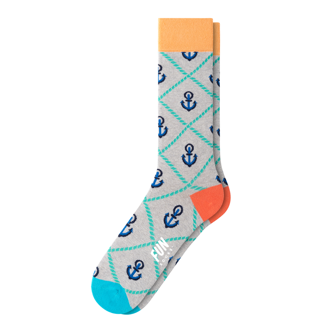 MEN'S ANCHOR SOCKS