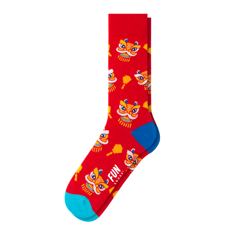 MEN'S CHINESE NEW YEAR SOCKS