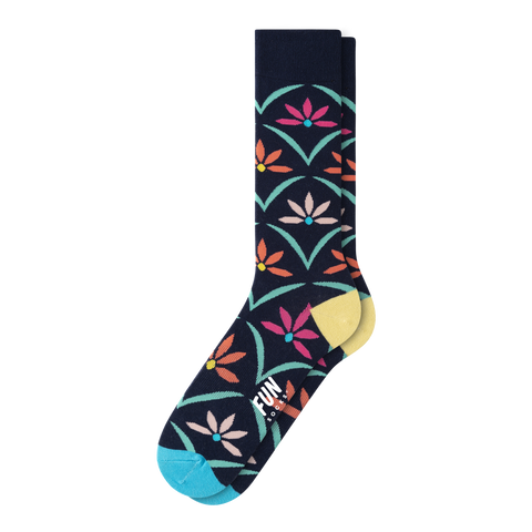 MEN'S FLOWER SOCKS