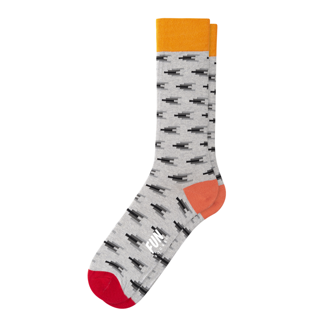 MEN'S MINI IKAT SOCKS