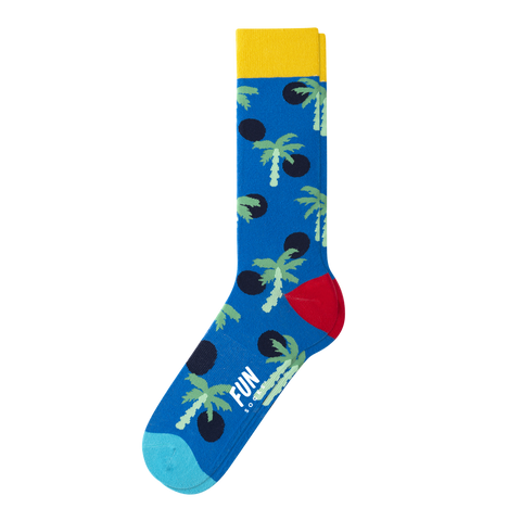 MEN'S PALM TREE SOCKS