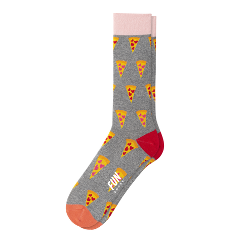 MEN'S PIZZA MY HEART SOCKS