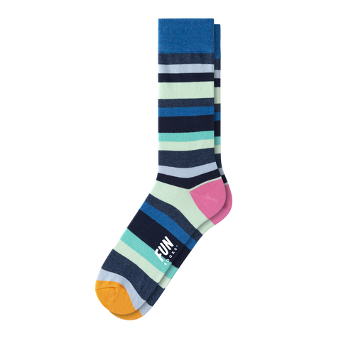 MEN'S BOLD STRIPE SOCKS