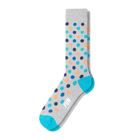 MEN'S A DOT DRESS SOCK