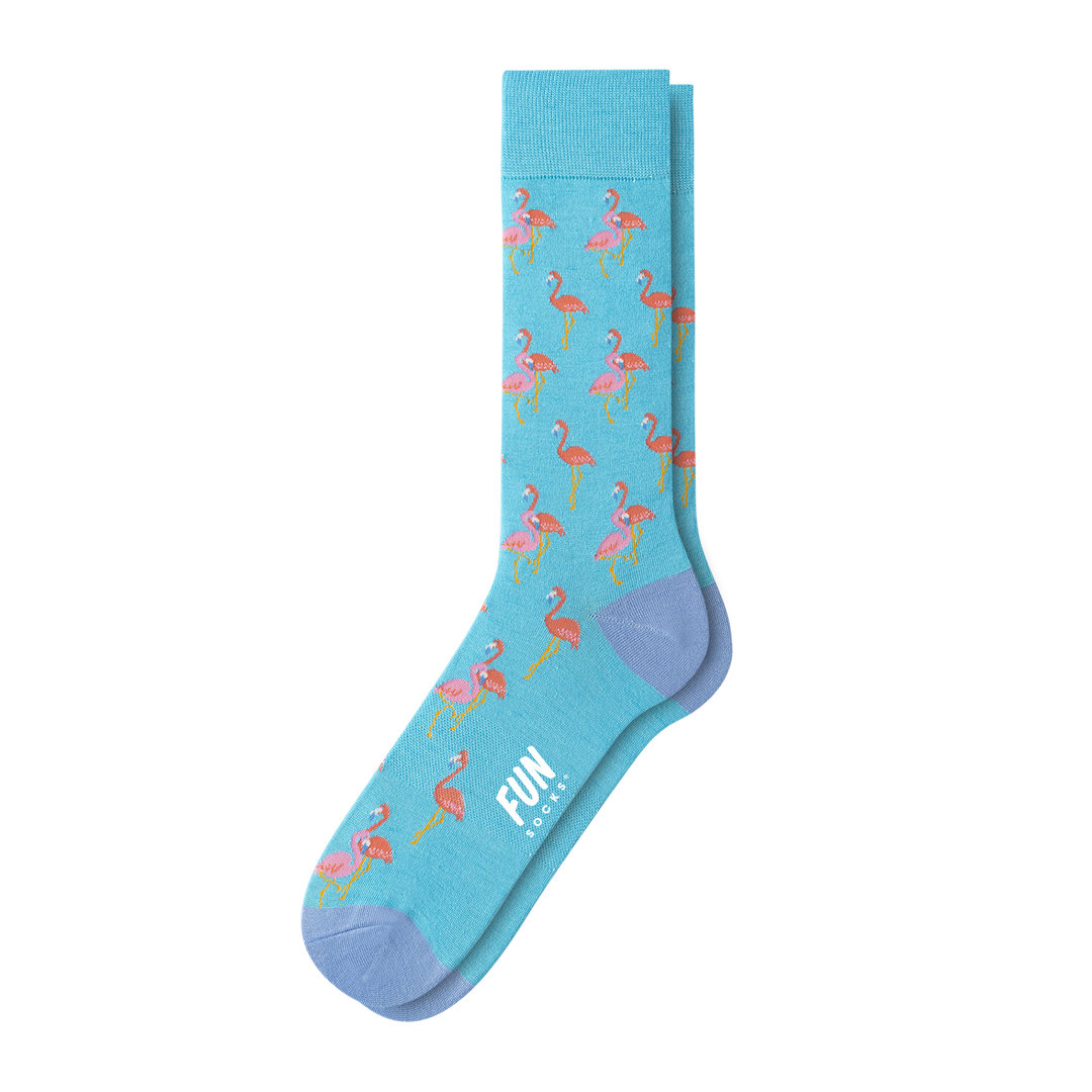 MEN'S FLAMINGO DRESS SOCK