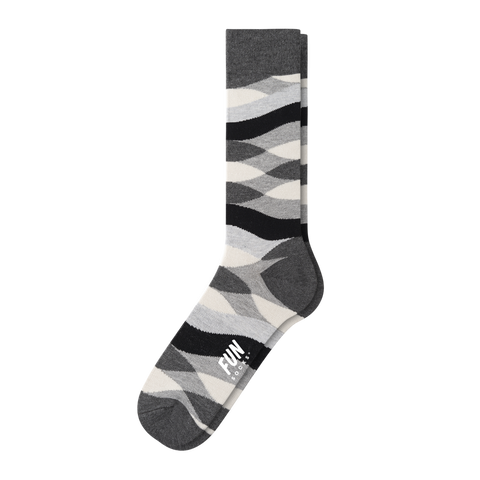 MEN'S WAVE STRIPE DRESS SOCK