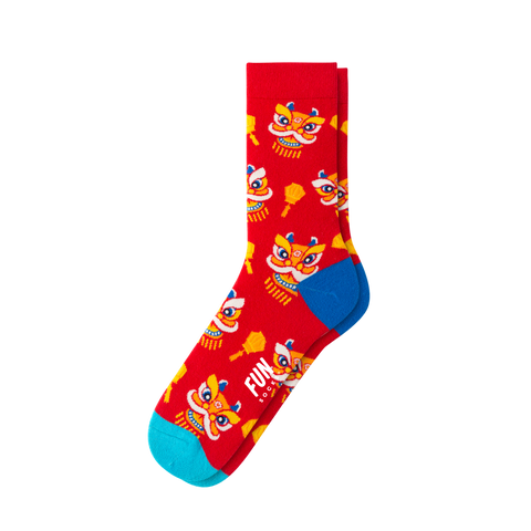 WOMEN'S CHINESE NEW YEAR SOCKS