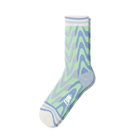 WOMEN'S WAVY SOCKS