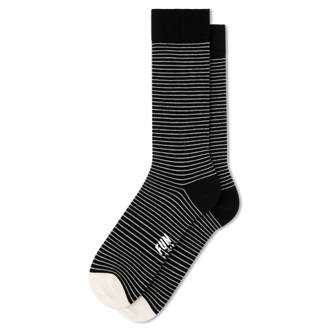 Men's Fundamental Stripe Socks - Fun Socks