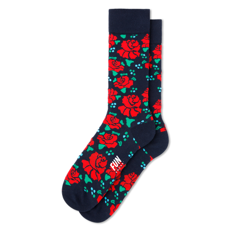 rose floral flower socks