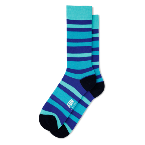 Men's Bold Stripe Socks - Fun Socks