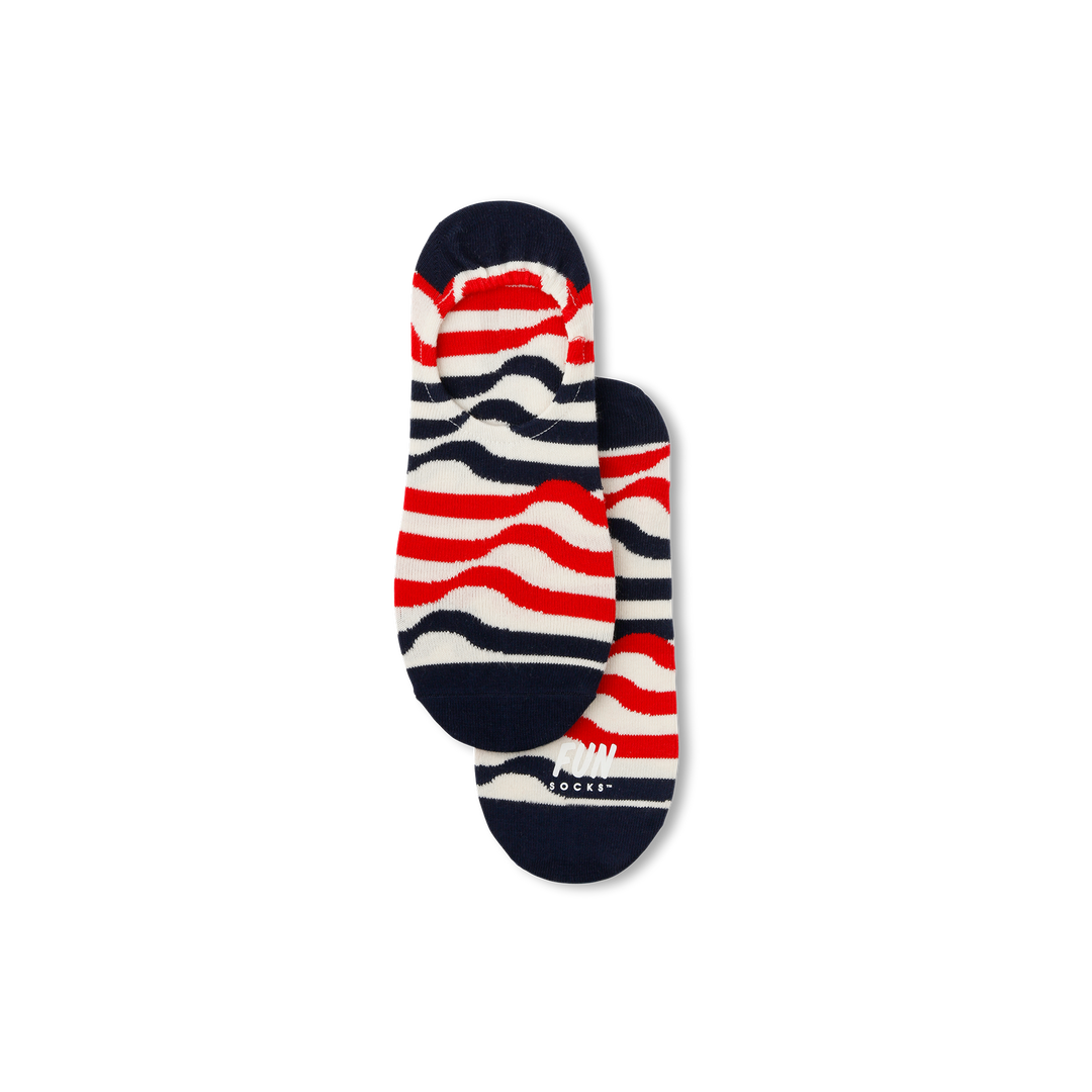 Men's Ribbon Stripe Socks - Fun Socks