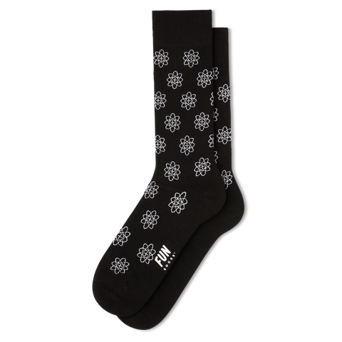Men's Atom Dress Socks - Fun Socks