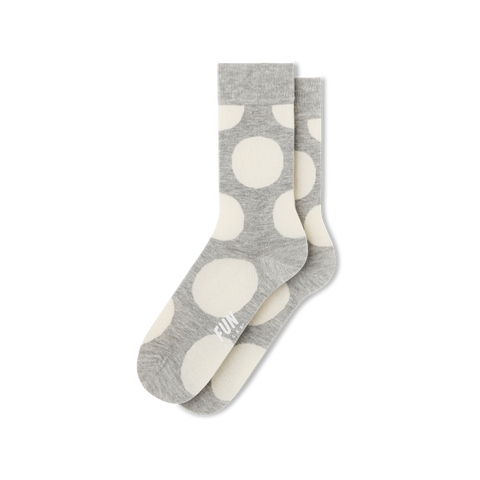 Women's Big Polka Dot Socks - Fun Socks