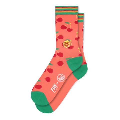 FUN SOCKS x Chupa Chups Very Cherry Women's Crew