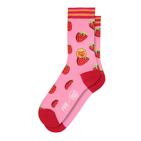 FUN SOCKS x Chupa Chups Strawberry Licks Women's Crew