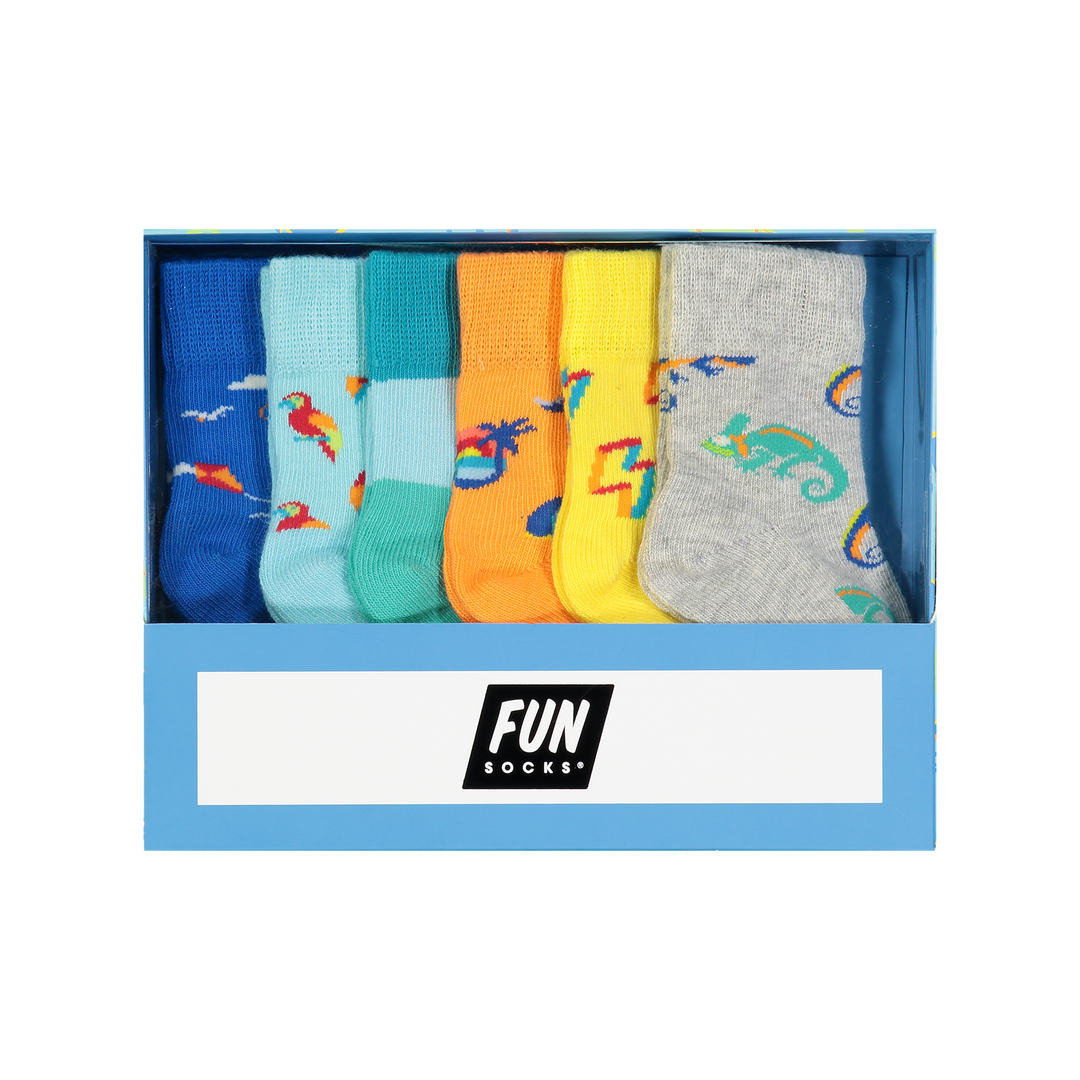 Boy's Infant 6 Pair Box Set