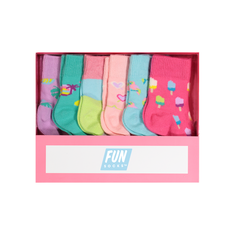 Infant 6 Pair Summer Box Set