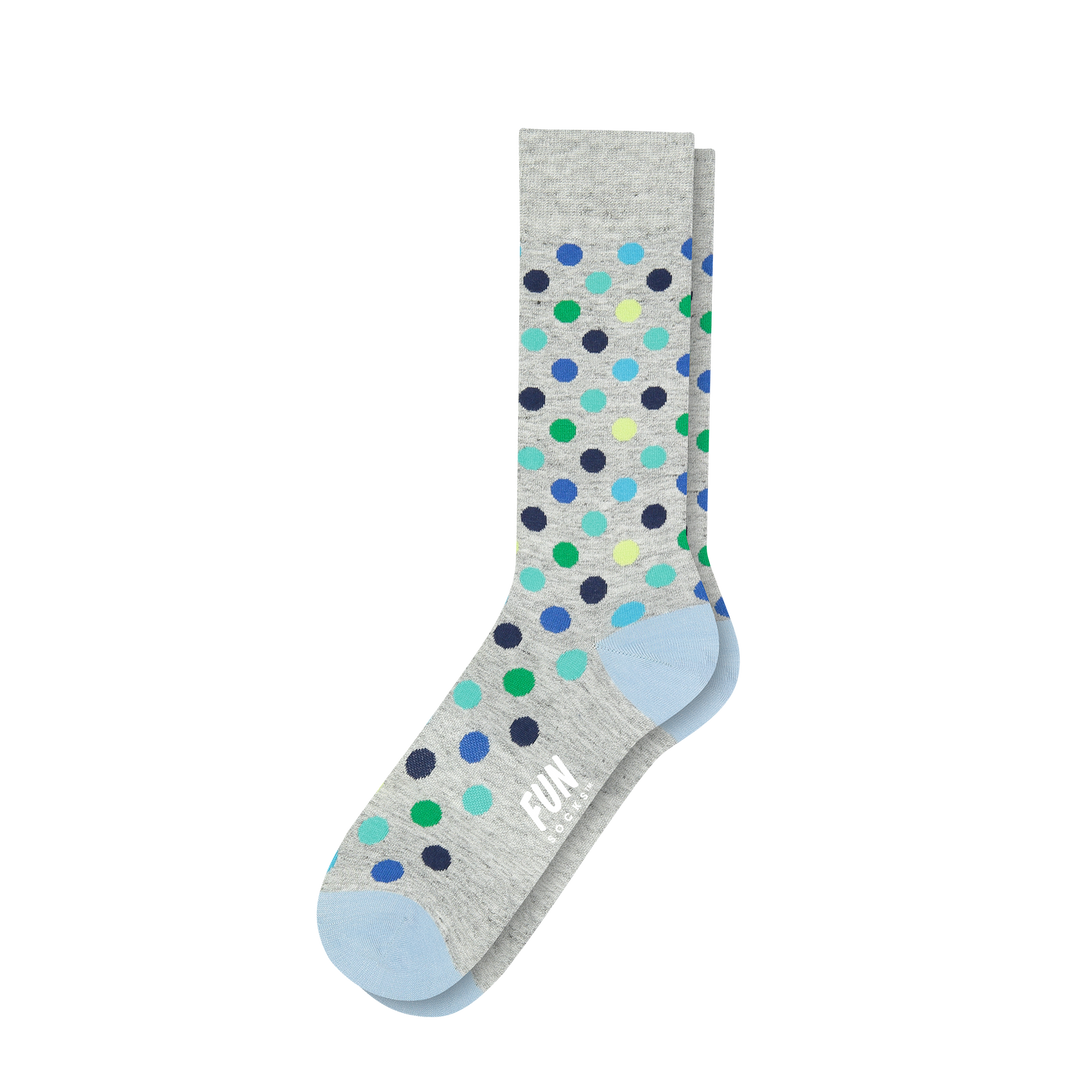 Men's Polka Dot Dress Socks