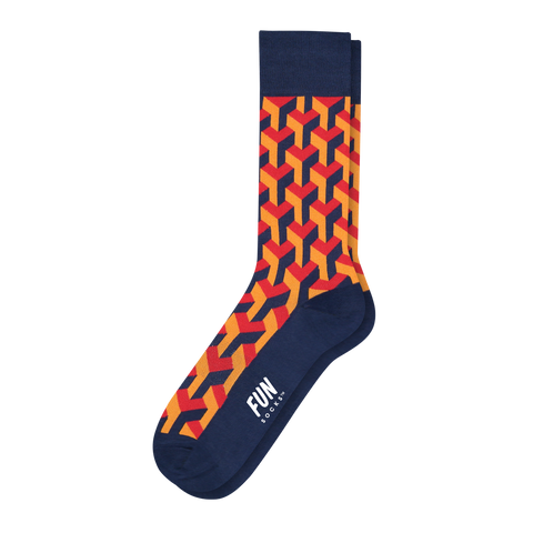 Men's Illusionist Dress Socks