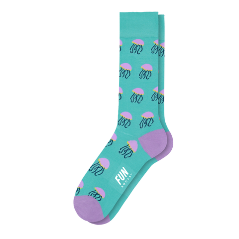 Men's Jellyfish Dress Socks