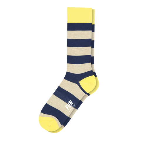 Men's Rugby Stripe Dress Socks