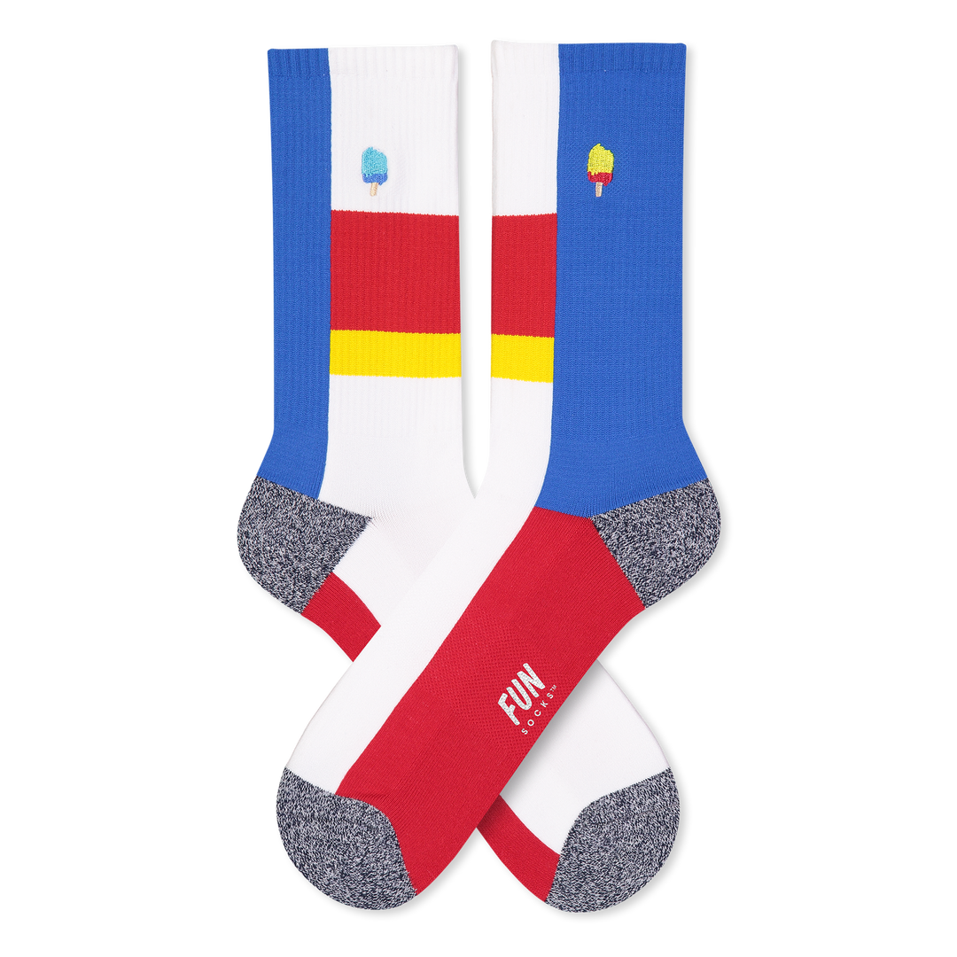 Men's Ice Cream Athletic Socks