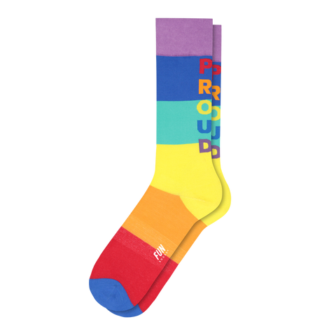Women's Pride Stripe Socks