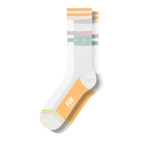 Women's Conversation Sheer Socks