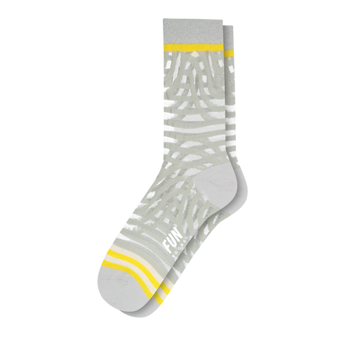 Women's Zebra Sheer Socks