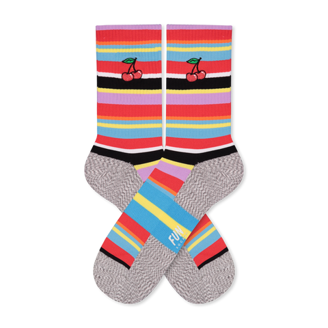 Women's Cherries Athletic Socks