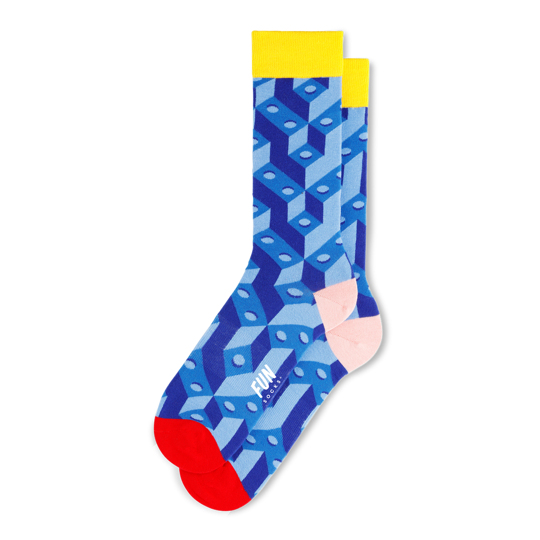 Men's Building Blocks Socks