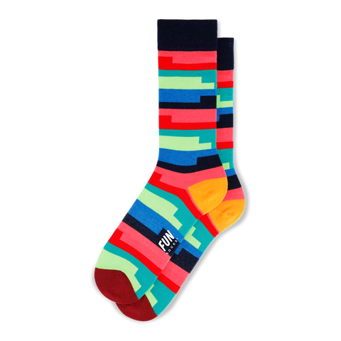 Men's Coil Stripe Socks