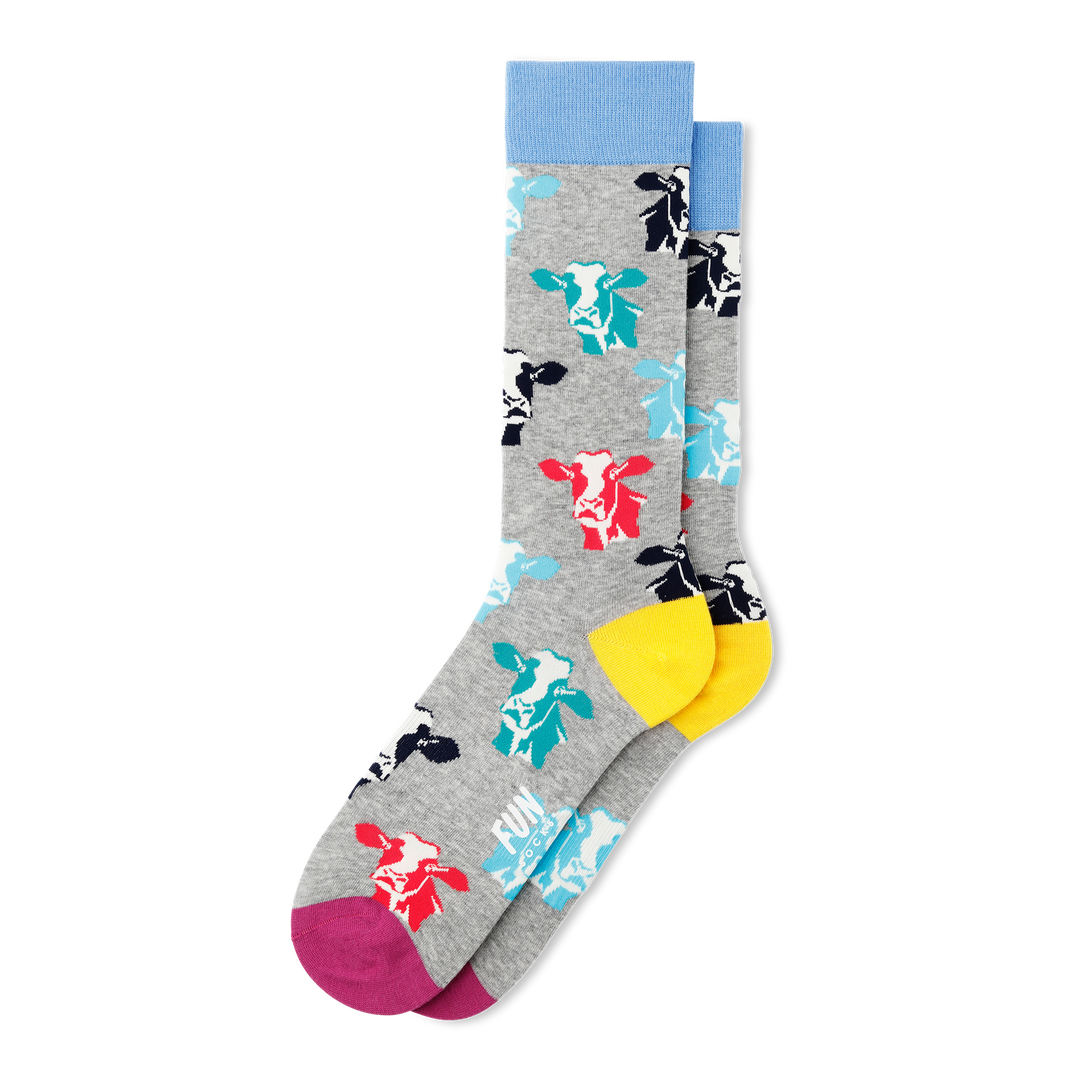 Men's Cow Socks