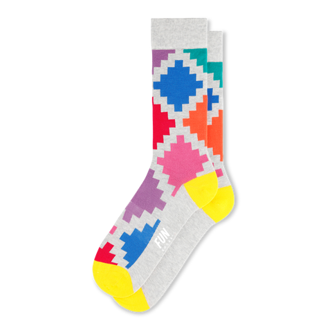 Men's Geo Check Socks