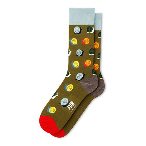 Men's Snail Dress Socks
