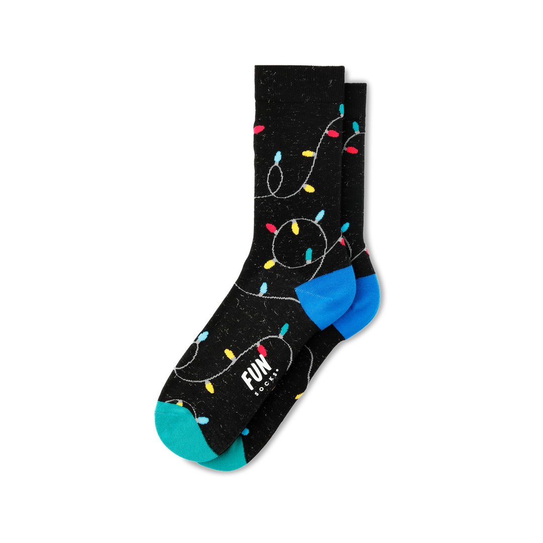 Women's Christmas Light Socks