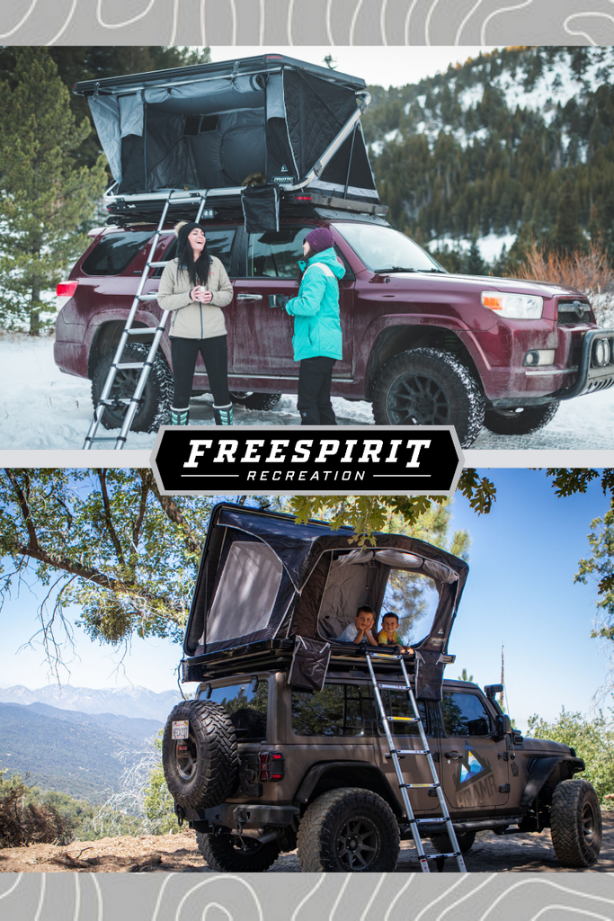 WHY BUY A FREESPIRIT RECREATION ROOFTOP TENT?