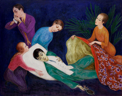 The Dying Dandy - Nils Dardel