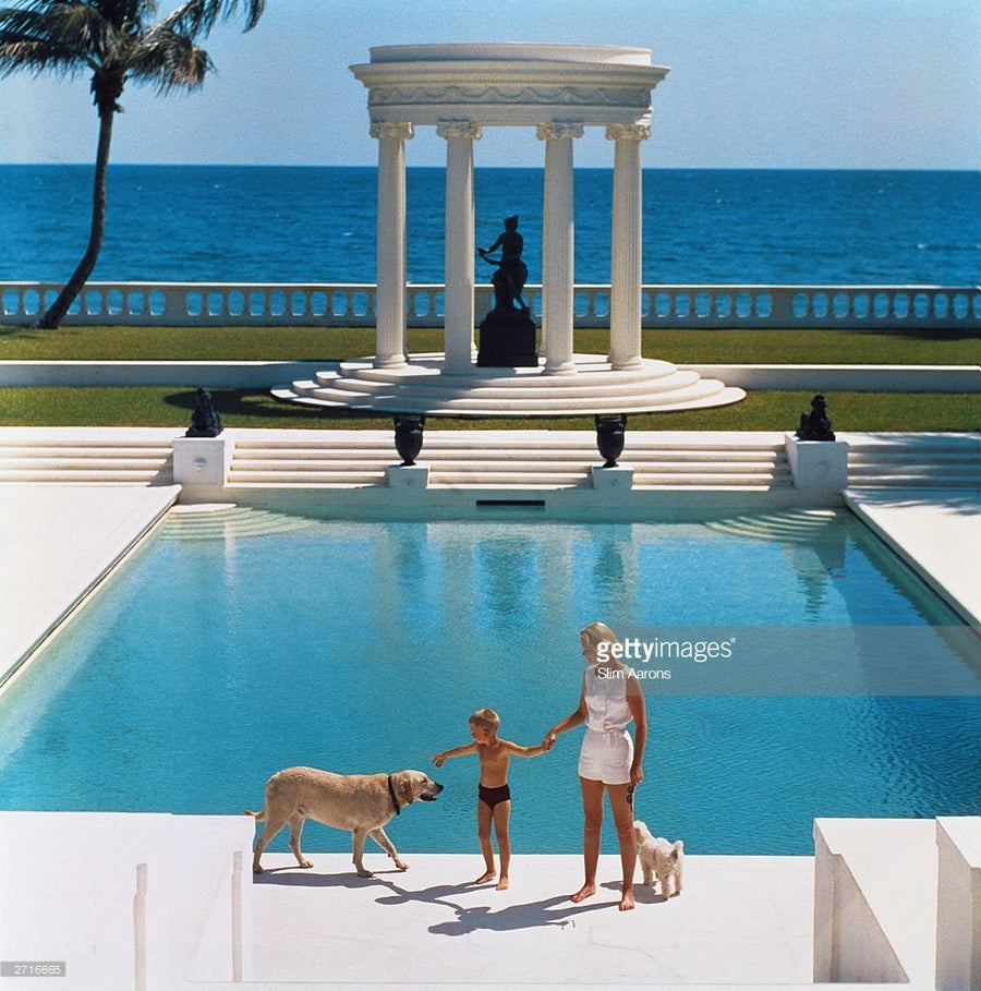 Nice Pool - Slim Aarons