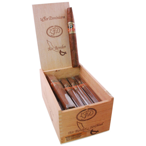LA FLOR DOMINICANA AIR BENDER CHISEL NATURAL 54 X 6 1/2