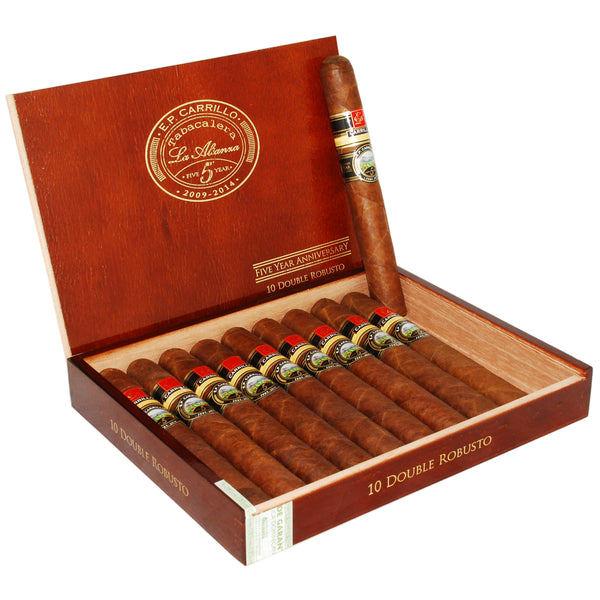 EP CARRILLO 5 YEAR ANNIVERSARY DOUBLE ROBUSTO 54 X 6 1/2