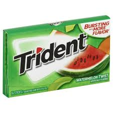TRIDENT GUM WATERMELON TWIST 14 STICKS